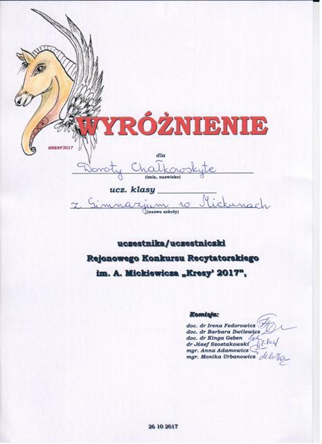 chalkovskyte